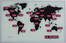 World Time Digit to jedyny w swoim rodzaju zegar ścienny, który spodoba się nawet bardzo wymagającym osobom. Wyróżnia się bardzo oryginalną...