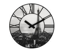 Zegar ścienny La Ville wyróżnia się piękną, bardzo realistyczna grafiką przedstawiającą stolicę Francji- Paryż. To zegar wyjątkowy, bardzo...
