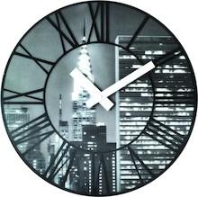 Zegar ścienny The City doskonale sprawdzi się we wszystkich designersko i pomysłowo urządzonych wnętrzach. Będzie znakomitym rozwiązaniem do aranżacji...