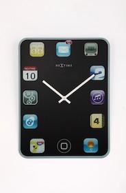 """Zegar ścienny """"Wall Pad"""" będzie znakomitym rozwiązaniem przede wszystkim do wnętrz nowoczesnych i designerskich. Cechuje się bardzo..."""