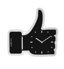 Nowoczesny zegar Thumbs Up to bardzo pomysłowe rozwiązanie, które spodoba się wielu osobom. Tarcza zegara w kształcie podniesionego do góry kciuka wielu...