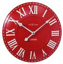 """""""London Roman"""" to zegary kolorystyką nawiązujące do brytyjskiej flagi. Tarcza tego modelu jest przestrzenna, dodatkowo część elementów jest..."""
