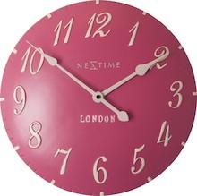 """""""London Arabic"""" to zegar w stylu vintage, który cyframi i delikatnymi, pięknie ukształtowanymi wskazówkami nawiązuje do zegarów klasycznych,..."""