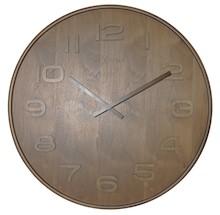 """Zegar 3096 BR """"Wood Wood Medium"""" zaprojektowany przez NeXtime, wyposażony jest w mechanizm skokowy zasilany za pomocą baterii typu AA. Zegar..."""