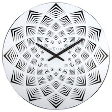 Zegar 3130 Bloom zaprojektowany przez Chantal Drenthe, wyposażony jest w mechanizm płynący zasilany za pomocą baterii typu AA. Zegar wykonany z tworzywa...