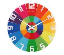 Zegarek ścienny Rainbow wyróżnia się przede wszystkim bardzo żywą kolorystyką. Tarcza we wszystkich kolorach tęczy będzie efektownym dodatkiem do...