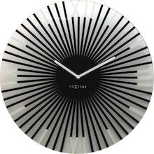 """Zegar 8175 ZW """"Sticks"""", którego projektantem jest Jette Schelb, posiada mechanizm skokowy zasilany za pomocą baterii typu AA. Zegar wykonany z..."""