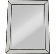 """Nowoczesne lustro w oryginalnej i niespotykanej, lustrzanej ramie. Rama jest dodatkowo przyozdobiona """"perełkami"""". Tafla oraz lustra na ramie..."""