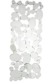 Awangardowa i nieprzeciętna dekoracja lustrzana. Tafle lusterek są kryształowe, szlifowane na całym obwodzie. Posiadają fazę. Lustro można wieszać w...