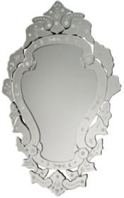 Bardzo eleganckie i wystawne lustro. Idealnie sprawdzi się we wnętrzach inspirowanych barokowym designem. Rama lustra wykonana jest z lusterek. Tafle...