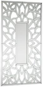 Wyjątkowo oryginalne i bardzo dekoracyjne lustro. Rama lustra wykonana jest z lusterek. Lusterka posiadają fazę. Lustro można wieszać w pionie oraz w...