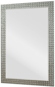 Lustro w bardzo efektownej i przyciągającej wzrok ramie, wykonanej z kryształków. Lustro jest dostępne także w rozmiarze 80x180. Można je wieszać w...