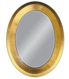 Rama lustra wykonana jest z drewna i pokryta złotym szlagmetalem. Lustro jest dostępne w kolorze złotym, srebrnym, białym oraz przecieranym białym....