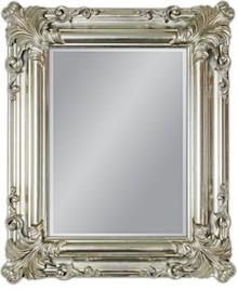 Śliczne, nieduże lecz bardzo eleganckie lustro. Idealnie sprawdzi się jako element dekoracyjny lub uzupełnienie do niewielkiej komódki. Rama lustra...