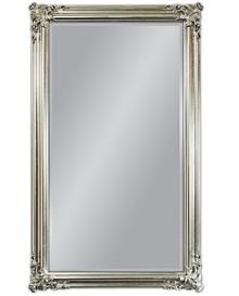 Barokowe lustro w wytwornie zdobionej, posrebrzanej ramie. Rama lustra wykonana jest z drewna i pokryta srebrnym szlagmetalem. Szlagmetal to cieniutkie listki...