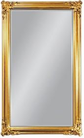 Rama lustra wykonana jest z drewna i pokryta złotym szlagmetalem. Szlagmetal to cieniutkie listki metalu ręcznie nakładane i przecierane kamieniem Agatu co...
