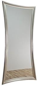 Rama lustra wykonana jest z drewna. Pokryta jest srebrnym szlagmetalem. Tafla lustra jest kryształowa. Jest to jedno z największych luster dostępnych na...