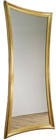 Rama lustra wykonana jest z drewna. Pokryta jest złotym szlagmetalem. Tafla lustra jest kryształowa. Jest to jedno z największych luster dostępnych na...