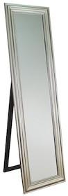 Rama lustra wykonana jest z drewna. Pokryta jest srebrnym szlagmetalem. Tafla lustra jest kryształowa szlifowana na całym obwodzie. Posiada fazę...