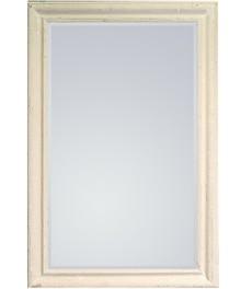 Rama lustra wykonana jest z drewna i pokryta kremowym, przecieranym lakierem. Tafla lustra jest kryształowa, szlifowana na całym obwodzie. Posiada fazę...