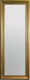 Rama lustra wykonana jest z drewna i pokryta złotym, przecieranym szlagmetalem. Tafla lustra jest kryształowa, szlifowana na całym obwodzie. Posiada fazę...