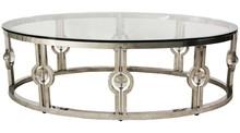 Stolik wykonany jest ze stali nierdzewnej. Blat jest z hartowanego szkła.  Wymiary:  szerokość (cm) 130 głębokość (cm) 70 wysokość (cm) 44