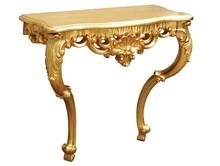Komódka wykonana jest z drewna i pokryta złotym szlagmetalem. Jest mocowana do ściany wkrętami. Dostępne kolory: złoty (szlagmetal) oraz srebrny...