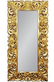 Piękne, potężne lustro w bogato rzeźbionej, ażurowej ramie. Barokowy styl sprawdzi się zarówno we wnętrzach klasycznych jak i nowoczesnych. Rama...