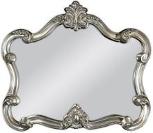 Śliczne lustro w efektownej ramie. Rama lustra wykonana jest z masy PU i pokryta srebrnym szlagmetalem. Szlagmetal to cieniutkie listki metalu ręcznie...