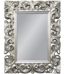 Klasyczne lustro w wystawnej, okazałej ramie. Idealnie sprawdzi się w każdym wnętrzu, pięknie komponuje się z naszymi srebrnymi komódkami. Rama lustra...
