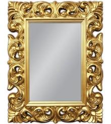 Klasyczne lustro w wystawnej, okazałej ramie. Idealnie sprawdzi się w każdym wnętrzu, pięknie komponuje się z naszymi komódkami. Rama lustra wykonana...