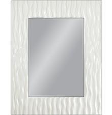 Wyjątkowe lustro w efektownej, nowoczesnej i niespotykanej ramie. Rama lustra wykonana jest z masy PU i pokryta białym lakierem. Tafla lustra jest...