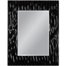 Wyjątkowe lustro w efektownej, nowoczesnej i niespotykanej ramie. Rama lustra wykonana jest z masy PU i pokryta czarnym lakierem. Tafla lustra jest...