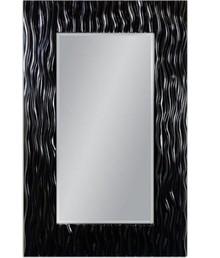 Wyjątkowe lustro w pokaźnej, efektownej, nowoczesnej i niespotykanej ramie. Rama lustra wykonana jest z masy PU i pokryta czarnym lakierem. Tafla lustra...