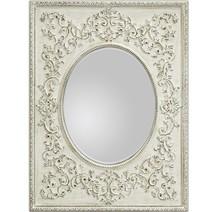 Wyjątkowe i niespotykane lustro w oryginalnej ramie. Rama lustra wykonana jest z drewna i pokryta białym lakierem (przecieranym). Lustro można wieszać w...