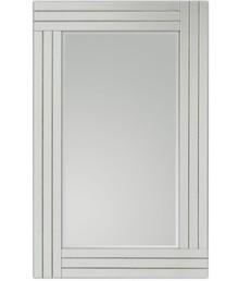 Proste lecz eleganckie, nowoczesne lustro w klasycznej ramie. Rama lustra wykonana jest z lusterek, zdobiona jest cyrkoniami. Lusterka posiadają fazę....