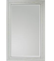 Proste lecz eleganckie, nowoczesne lustro w klasycznej ramie. Rama lustra wykonana jest z lusterek, zdobiona jest kryształkami. Lusterka posiadają fazę....