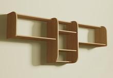 Półka na ścianę o zmiennych formach i wysokiej funkcjonalności. Posiada nowatorskie rozwiązanie pozwalające składać ją na dowolne, umożliwia to...