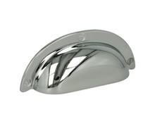 Stylizowany uchwyt włoskiej firmy Bosetti Marella. Uchwyt wykonany z wysokiej jakości stopu cynku i aluminium,w kolorze pokryciachrom połysk....