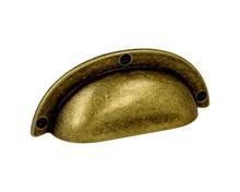 Stylizowany uchwyt włoskiej firmy Bosetti Marella wykonany z wysokiej jakości stopu cynku i aluminium.  Kolor pokrycia:stary mosiądz Całkowita...