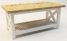 STOLIK KAWOWY RUSTIC Stolik nawiązujący do stylu rustykalnego, oraz typowo skandynawskiego. idealnie wpasuje się we wnętrza gdzie dominuje biel i...