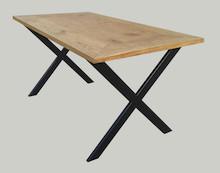 STOLIK KAWOWY IGIELNIK  Prosta forma stolika łączy w sobie minimalistyczny styl skandynawski z surowością industrialnych wnętrz. Blat drewniany z...