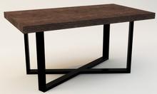 STOLIK KAWOWY MERLIN  Prosta forma stolika łączy w sobie minimalistyczny styl skandynawski z surowością industrialnych wnętrz. Blat drewniany z...