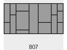 Wkład na sztućce OrgaTray 590 807 x 462 mm SREBRNY - Hettich