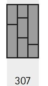 Wkład na sztućce OrgaTray 590 307 x 462 mm BIAŁY - Hettich