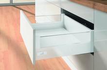 InnoTech szuflada wysoka h144 z Design Side:<br />Komplet składa się z:<br /> 1 kpl. oskrzyń, lewa i prawa<br /> 2 szt. elementów...