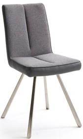 Dostępne kolory (połączenie tkaniny oraz skóry ekologicznej): -szary -taupe  Wymiary siedziska: szerokość siedziska 48 cm wysokość siedziska 49 cm...