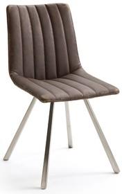 Dostępne kolory (połączenie tkaniny oraz skóry ekologicznej): -vintage  Wymiary siedziska: szerokość siedziska 48 cm wysokość siedziska 49 cm...