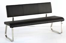 Dostępne warianty kolorystyczne: -czarny  Wymiary: -szerokość: 155 cm lub 175 cm -głębokość: 59 cm -wysokość: 86 cm -wysokość siedziska: 48 cm...