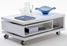 Wymiary: długość 90 - 120 cm szerokość 60 cm wysokość 36 cm  Materiał:  -płyta MDF lakierowana na biały  Obrotowa szuflada z funkcją...